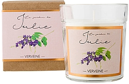 Düfte, Parfümerie und Kosmetik Duftkerze Verbena - Ambientair Le Jardin de Julie Verveine