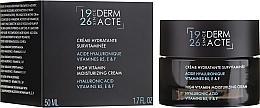 Düfte, Parfümerie und Kosmetik Feuchtigkeitsspendende Gesichtscreme mit Hyaluronsäure und Vitamin B5, E und F - Academie Creme Hydratante Survitaminee