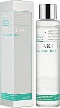 Düfte, Parfümerie und Kosmetik Tägliches Gesichtsrenigungstonikum mit AHA- und BHA-Säure - Mizon AHA & BHA Daily Clean Toner