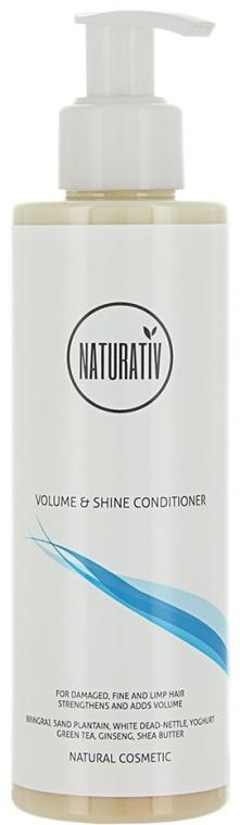 Haarspülung für mehr Volumen und Glanz - Naturativ Volume & Shine Conditioner — Bild N1