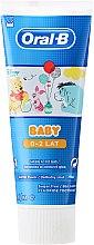 Düfte, Parfümerie und Kosmetik Kinderzahnpasta 0-2 Jahre - Oral-B Baby Winnie Pooh Toothpaste