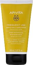 Düfte, Parfümerie und Kosmetik Sanfte Haarspülung für täglichen Gebrauch mit Kamille und Honig - Apivita Gentle Daily Conditioner For All Hair Types With Chamomile & Honey