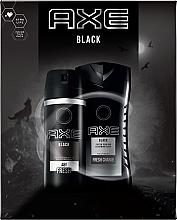 Düfte, Parfümerie und Kosmetik Körperpflegeset - Axe Black (Deospray 150ml + Duschgel 250ml)