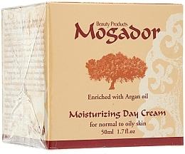 Düfte, Parfümerie und Kosmetik Feuchtigkeitsspendende Tagescreme für normale und fettige Haut mit Arganöl - Mogador Moisturizing Day Cream