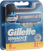 Düfte, Parfümerie und Kosmetik Ersatzklingen 8 St. - Gillette Mach3 Turbo