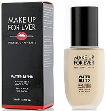 Düfte, Parfümerie und Kosmetik Foundation für Körper und Gesicht - Make Up For Ever Water Blend Foundation