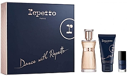 Düfte, Parfümerie und Kosmetik Repetto Dance With Repetto - Duftset (Eau de Parfum 60ml + Körperlotion 50ml + Nagellack 5ml)