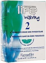 Düfte, Parfümerie und Kosmetik Dauerwelle-Set mit Zitrusduft 2 - Farmavita Life Waving 2