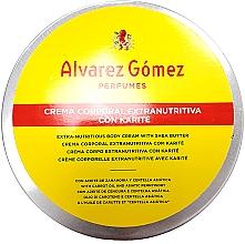 Düfte, Parfümerie und Kosmetik Alvarez Gomez Agua De Colonia Concentrada Crema de Karite Corporal - Extra nährende Körpercreme mit Sheabutter