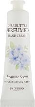 Düfte, Parfümerie und Kosmetik Parfümierte Handcreme mit Sheabutter und Jasminduft - Skinfood Shea Butter Perfumed Hand Cream Jasmine Scent