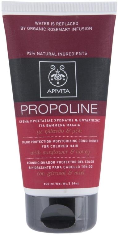 Haarspülung mit Sonnenblume und Honig für coloriertes Haar - Apivita Hair Colour Protection Moisturising Conditioner with Sunflower — Bild N1