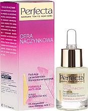 Düfte, Parfümerie und Kosmetik Gesichtsserum gegen Rötungen und zur Stärkung der Blutgefäße - Perfecta Cera Naczynkowa Serum