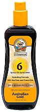 Düfte, Parfümerie und Kosmetik Sonnenschutzspray mit Karottenöl SPF 6 - Australian Gold Tea Tree&Carrot Oils Spray SPF 6