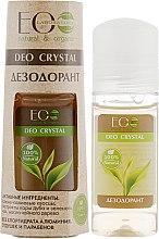 Düfte, Parfümerie und Kosmetik Deo mit natürlichem Grüner Tee- und Eichenrindeextrakt - ECO Laboratorie Deo Crystal