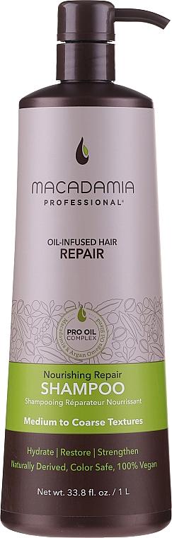 Nährendes und regenerierendes Shampoo - Macadamia Professional Nourishing Repair Shampoo