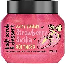 Düfte, Parfümerie und Kosmetik Körperpeeling mit Erdbeere - MonoLove Bio Strawberry Sicilia Softness Body Scrub