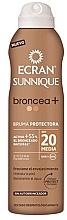 Düfte, Parfümerie und Kosmetik Sonnenschutzspray-Lotion mit Bronzer SPF 20 - Ecran Sunnique Broncea+ Lotion Spf20