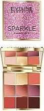 Düfte, Parfümerie und Kosmetik Lidschattenpalette - Eveline Cosmetics Sparkle