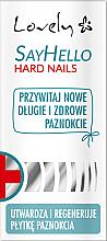 Düfte, Parfümerie und Kosmetik Nagelbalsam für spröde und bruchanfällige Nägel - Lovely Say Hello Hard Nails