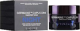 Düfte, Parfümerie und Kosmetik Intensiv regenerierende Nachtcreme mit Avocado- und Sojaöl - Germaine de Capuccini Timexpert SRNS Night High Recovery Comfort Cream