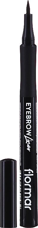 Flüssiger Augenbrauenstift - Flormar Eyebrow Liner