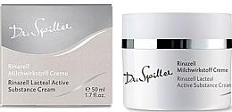 Düfte, Parfümerie und Kosmetik Feuchtigkeitsspendende und beruhigende Gesichtscreme mit Milchpeptiden für mehr Hautelastizität - Dr. Spiller Rinazell Lacteal Active Substance Cream