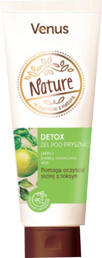Entgiftendes Duschgel mit Algen- und Apfelextrakt - Venus Nature