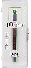 Düfte, Parfümerie und Kosmetik Nagelhautpflegeset - O.P.I. Tooling Dexterity Titanium (Nagelhautschieber 1 St. + Nagelhautpeeling 30ml)