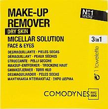 Düfte, Parfümerie und Kosmetik Mizellen-Feuchttücher zum Abschminken - Comodynes Make Up Remover Micellar Solution Easy Cleanser