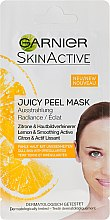 Düfte, Parfümerie und Kosmetik Gesichtsmaske für fahle Haut mit Unebenheiten mit Zitrone - Garnier SkinActive Juicy Mask