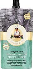 Düfte, Parfümerie und Kosmetik Haarwuchs Aktivator Shampoo mit Klettenwurzel, Wildpfefferöl, Sanddorn und Johanniskraut - Rezepte der Oma Agafja