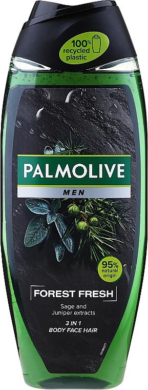 3in1 Männer-Duschgel für Gesicht, Körper und Haar - Palmolive Men Forest Fresh