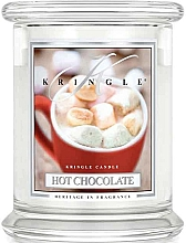 Düfte, Parfümerie und Kosmetik Duftkerze im Glas Hot Chocolate - Kringle Candle Hot Chocolate