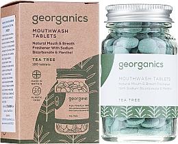 Düfte, Parfümerie und Kosmetik Zahntabletten mit Teebaum - Georganics Natural Toothtablets Tea Tree