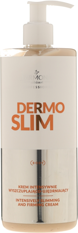 Intensiv straffende Körpercreme zum Abnehmen - Farmona Professional Dermo Slim Intensively Cream