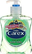 Düfte, Parfümerie und Kosmetik Antibakterielle Flüssigseife mit Aloe Vera - Carex Aloe Vera Hand Wash
