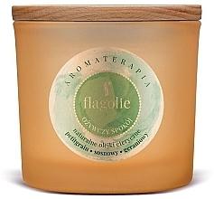 Düfte, Parfümerie und Kosmetik Duftkerze im Glas Erfrischender Frieden - Flagolie Fragranced Candle Refreshing Peace