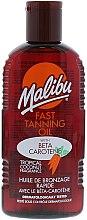Düfte, Parfümerie und Kosmetik Bräunungsöl mit Carotin - Malibu Fast Tanning Oil with Carotene