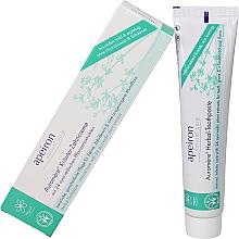 Düfte, Parfümerie und Kosmetik Kräuter-Zahncreme mit 24 ayurvedischen Pflanzenextrakten - Apeiron Auromere Herbal Toothpaste