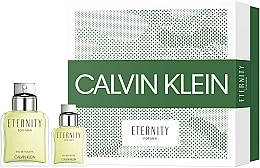 Düfte, Parfümerie und Kosmetik Calvin Klein Eternity For Men - Duftset (Eau de Toilette 100ml + Eau de Toilette 30ml)