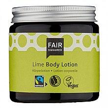 Düfte, Parfümerie und Kosmetik Körperlotion mit Limettenduft - Fair Squared Body Lotion Lime