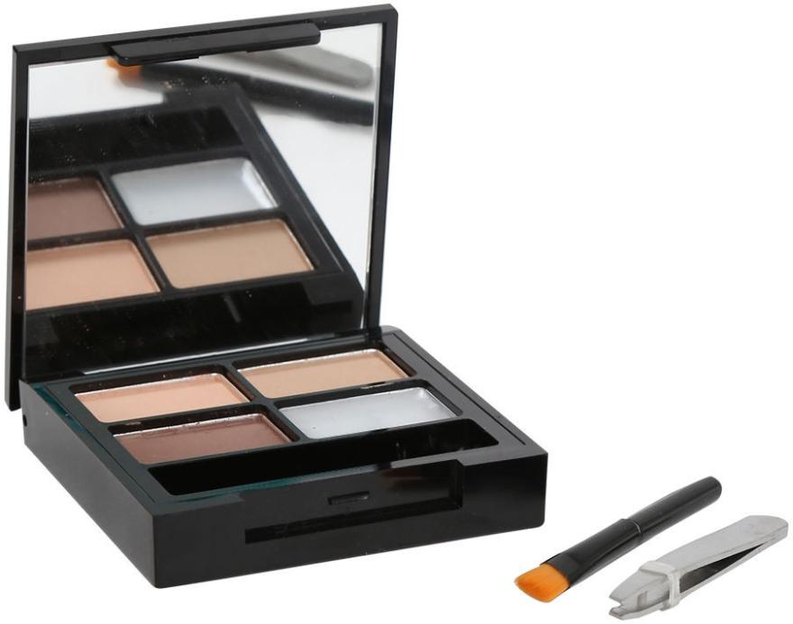 Augenbrauen-Make-up - Makeup Revolution Focus & Fix Brow Kit — Bild N1