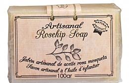 Düfte, Parfümerie und Kosmetik 100% Natürliche Seife mit Hagebuttenöl - Arganour Rosehip Oil Soap