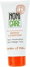Düfte, Parfümerie und Kosmetik Feuchtigkeitsspendender Shampoo-Conditioner mit Aloe und Papaya - Nonicare Garden Of Eden Shampoo & Conditioner