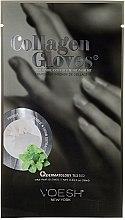Düfte, Parfümerie und Kosmetik Kollagen-Handschuhe - Voesh Collagen Deluxe Manicure Mask Enriched With Phyto Collagen & Peppermint