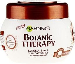 Düfte, Parfümerie und Kosmetik 3in1 Haarmaske mit Kokosmilch und Macadamiaöl - Garnier Botanic Therapy