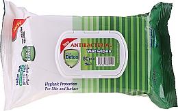 Düfte, Parfümerie und Kosmetik Antibakterielle Feuchttücher 80 St. - Detox Pine Scented Antibacterial Virucidal Wet Wipes