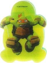 Düfte, Parfümerie und Kosmetik Kinder-Badeschwamm Die Ninja Turtles Michelangelo 3 - Suavipiel Turtles Bath Sponge