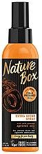 Düfte, Parfümerie und Kosmetik Haarspray mit Aprikosenöl - Nature Box Apricot Oil Extra Shine Spray
