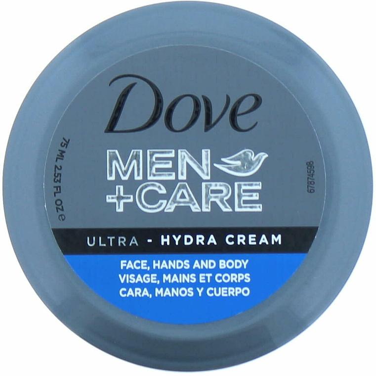 Feuchtigkeitsspendende Creme für Körper, Gesicht und Hände - Dove Men + Care Ultra Hydra Cream